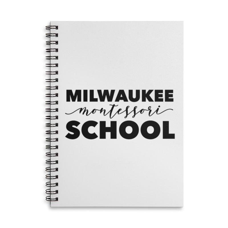 Staff Logo Series - Lynda Williams Center Accessories Notebook by mkemontessori's Artist Shop