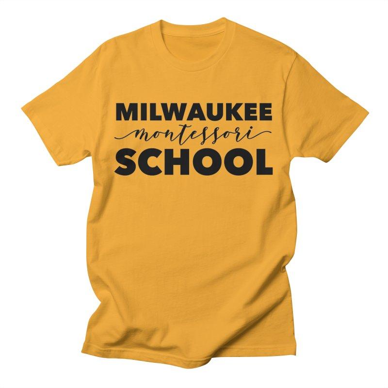 Staff Logo Series - Lynda Williams Center Men's T-Shirt by mkemontessori's Artist Shop