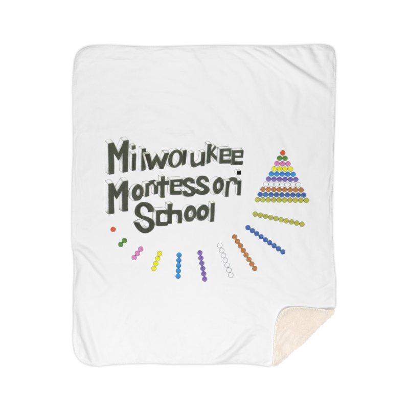 MMS Staff Logo - Jane Keuler Home Blanket by mkemontessori's Artist Shop
