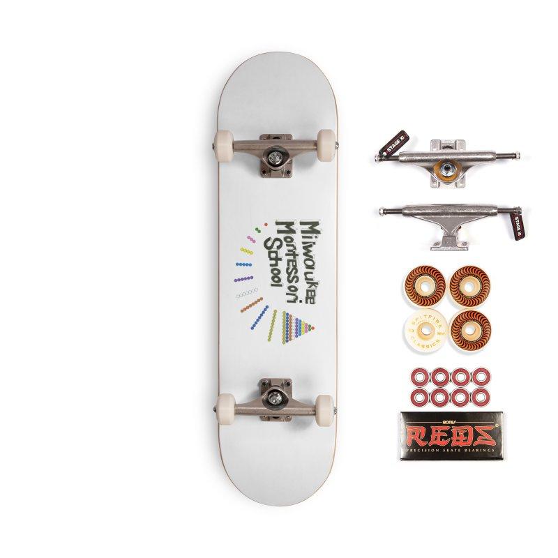 MMS Staff Logo - Jane Keuler Accessories Skateboard by mkemontessori's Artist Shop