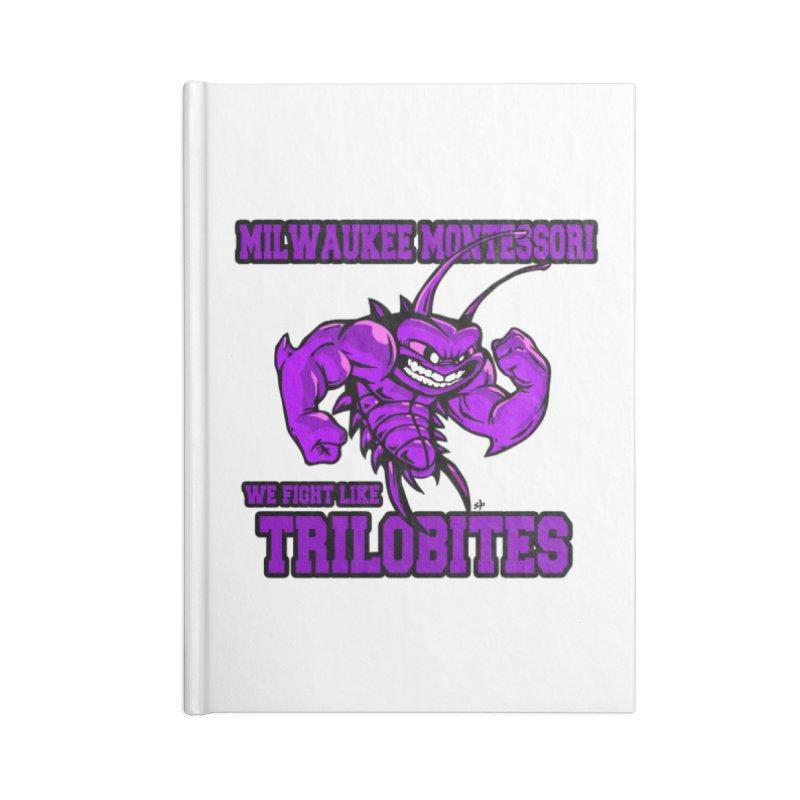 Trilobites Accessories Notebook by mkemontessori's Artist Shop