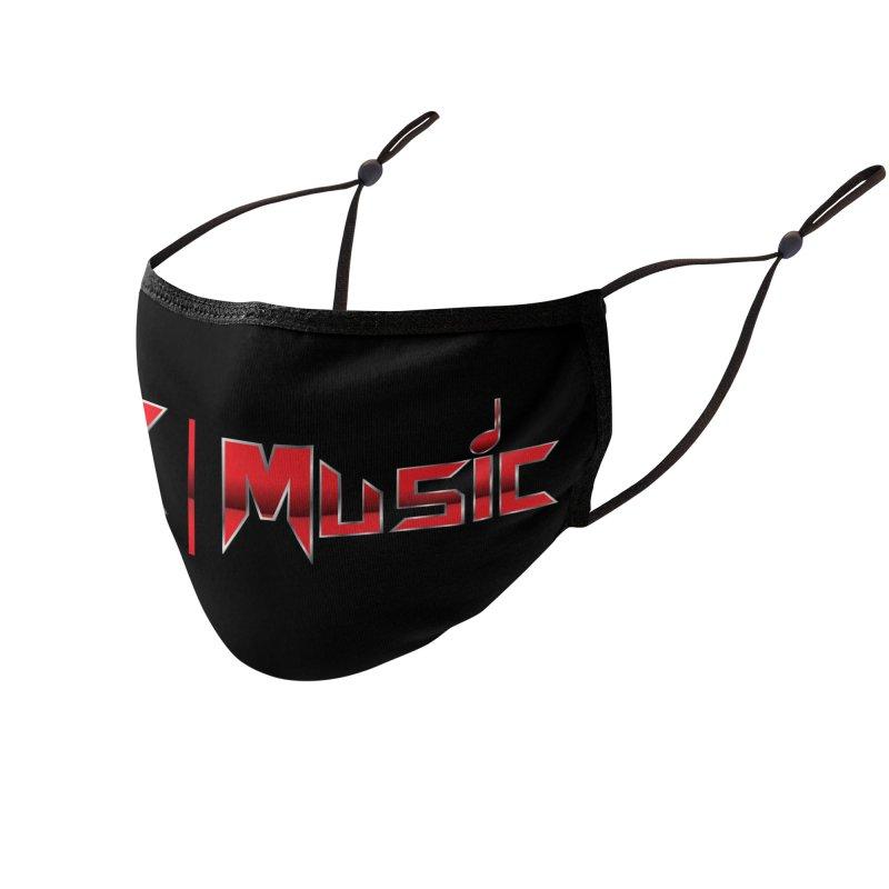 MK Music USA Design 2 Accessories Face Mask by MK Music's Artist Shop