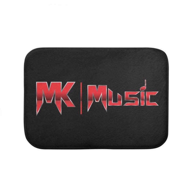 MK Music USA Design 2 Home Bath Mat by MK Music's Artist Shop