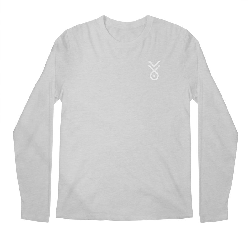 Manga Koro Symbol (small) Men's Regular Longsleeve T-Shirt by M. L. Wang Shop