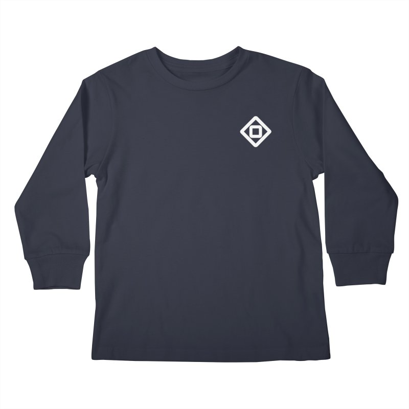 Senkuli Symbol (small) Kids Longsleeve T-Shirt by M. L. Wang Shop