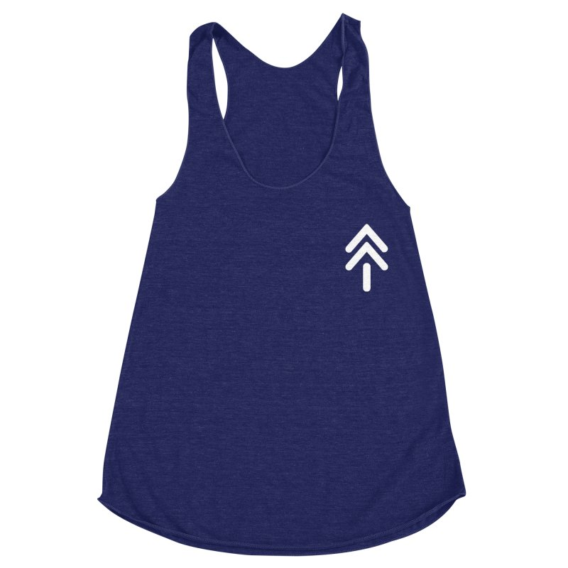 Koro Symbol (small) Women's Racerback Triblend Tank by M. L. Wang Shop