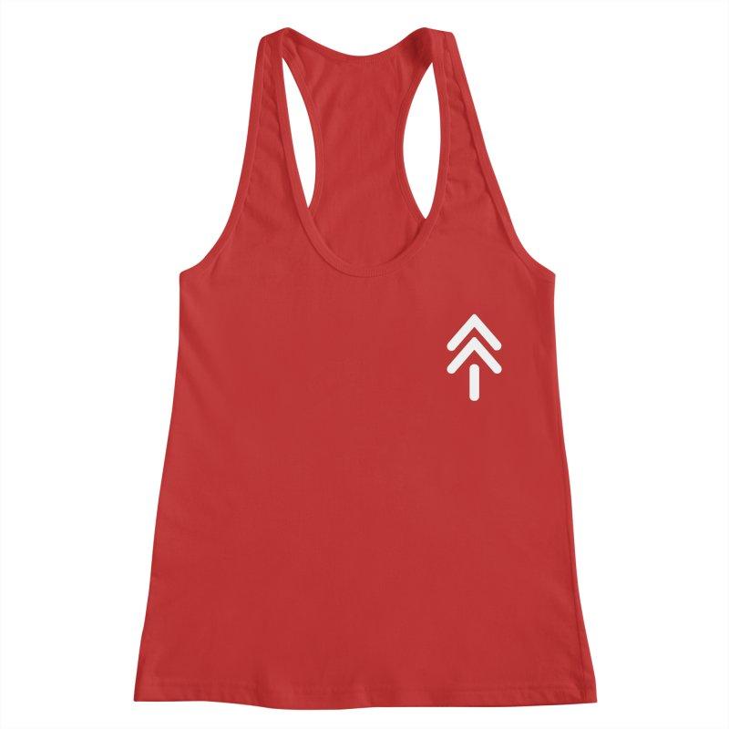 Koro Symbol (small) in Women's Racerback Tank Red by M. L. Wang Shop