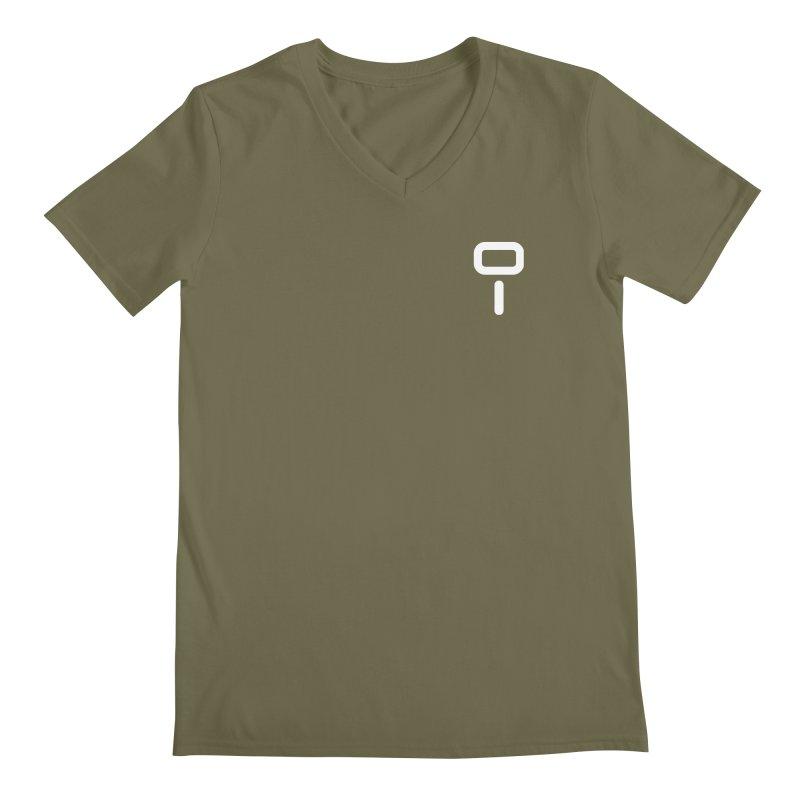 Numu Symbol (small) Men's Regular V-Neck by M. L. Wang Shop