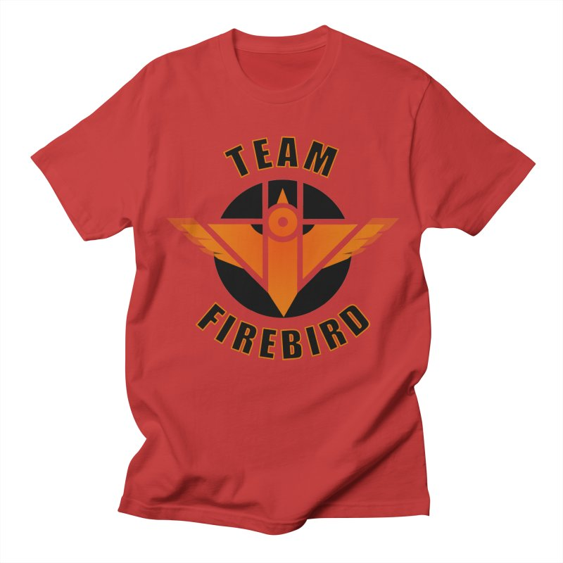 Team Firebird in Men's Regular T-Shirt Red by M. L. Wang Shop
