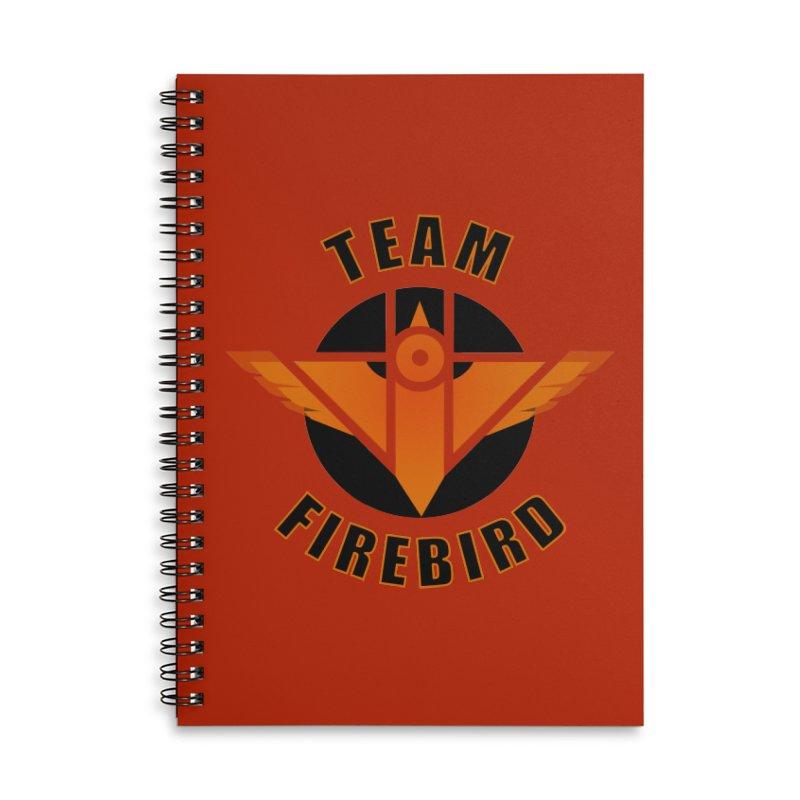 Team Firebird Accessories Lined Spiral Notebook by M. L. Wang Shop