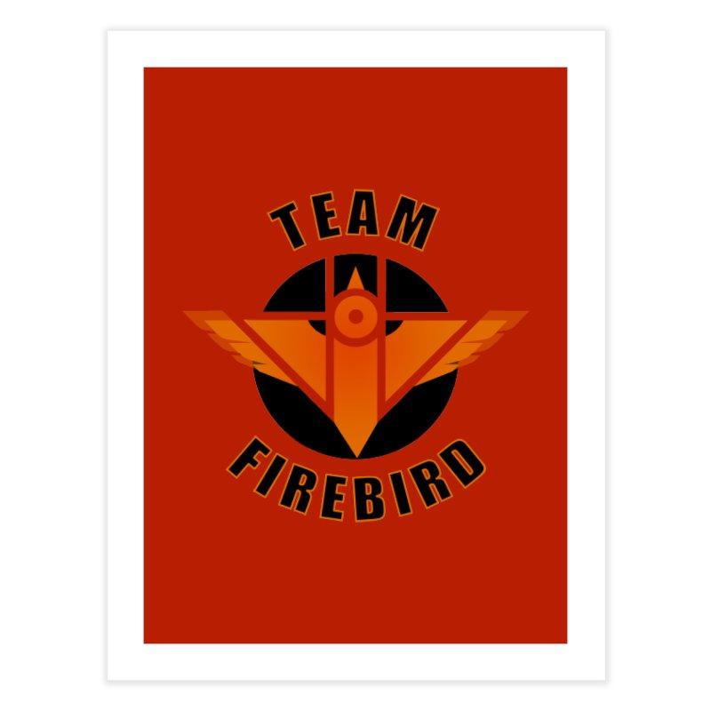 Team Firebird Home Fine Art Print by M. L. Wang Shop