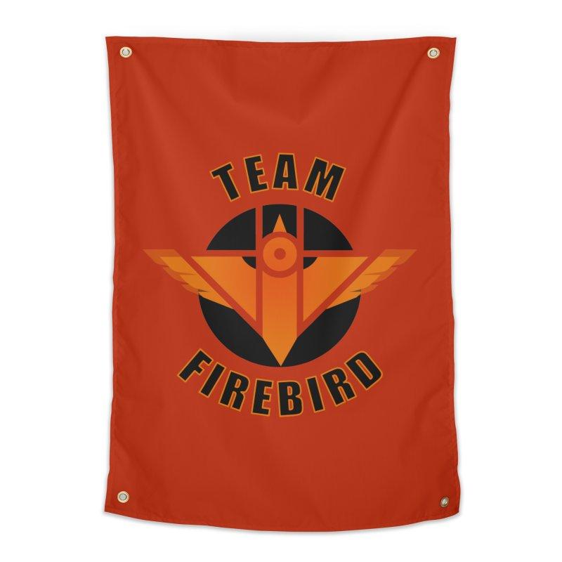 Team Firebird Home Tapestry by M. L. Wang Shop