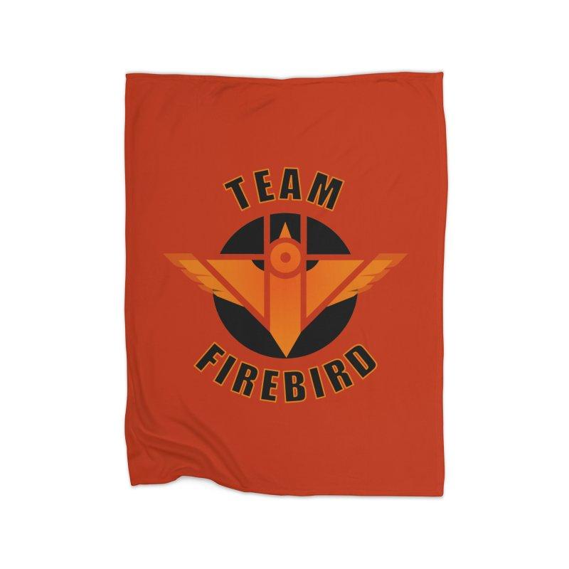 Team Firebird Home Fleece Blanket Blanket by M. L. Wang Shop