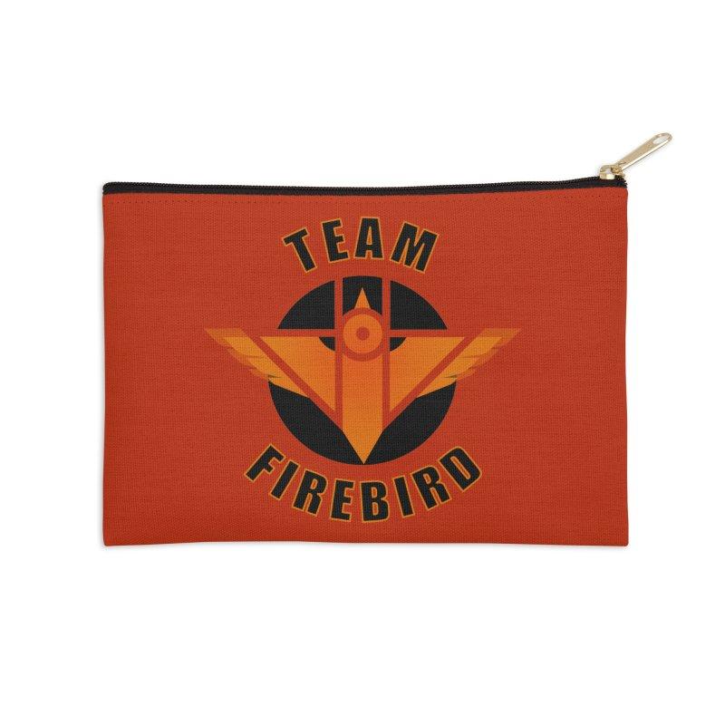 Team Firebird Accessories Zip Pouch by M. L. Wang Shop