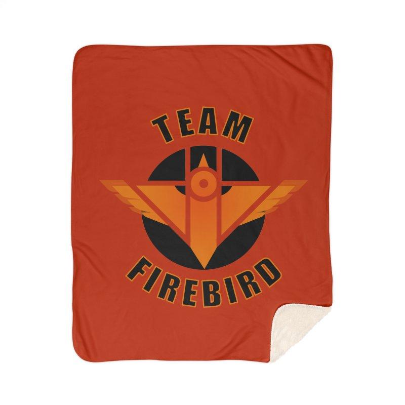 Team Firebird Home Sherpa Blanket Blanket by M. L. Wang Shop