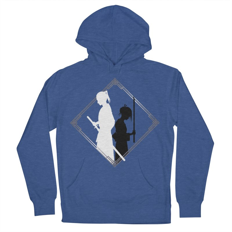 The Sword of Kaigen - Misaki & Takeru Graphic Women's French Terry Pullover Hoody by M. L. Wang Shop