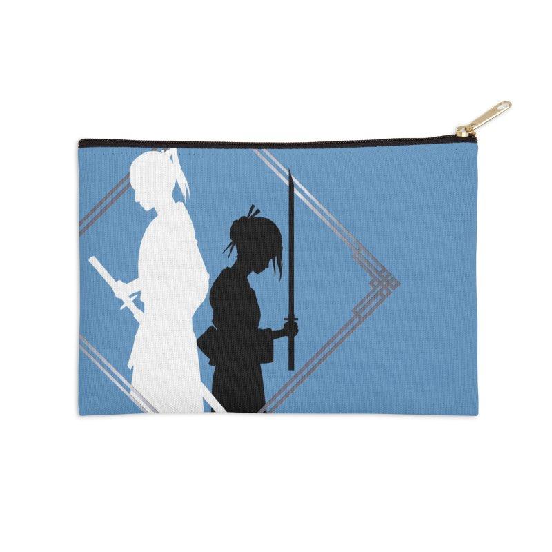 The Sword of Kaigen - Misaki & Takeru Graphic Accessories Zip Pouch by M. L. Wang Shop
