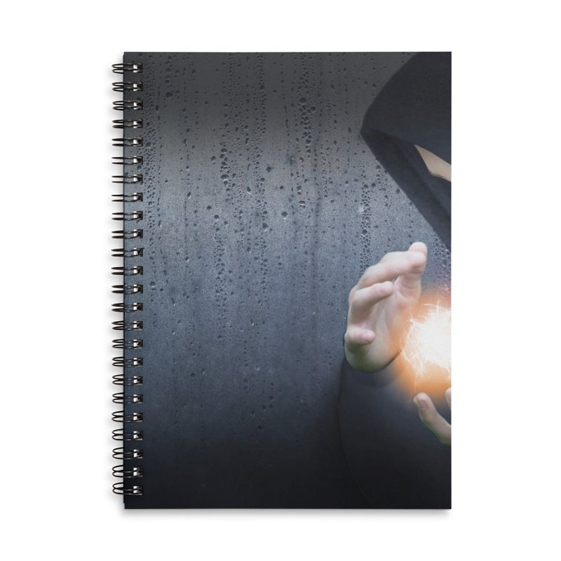 Theonite: Planet Adyn Cover Art Accessories Lined Spiral Notebook by M. L. Wang Shop