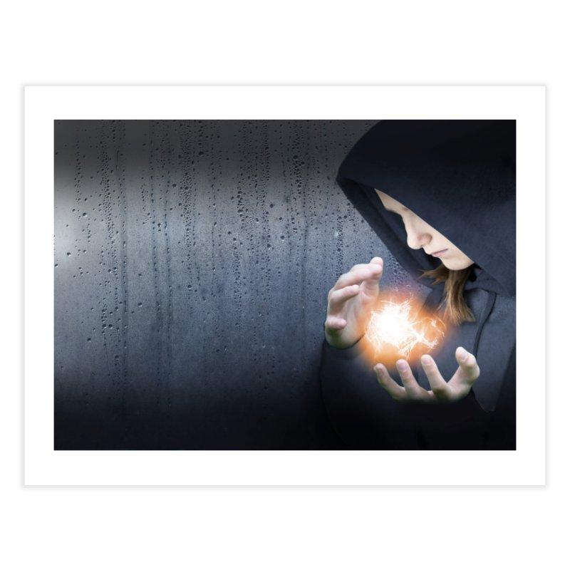 Theonite: Planet Adyn Cover Art Home Fine Art Print by M. L. Wang Shop