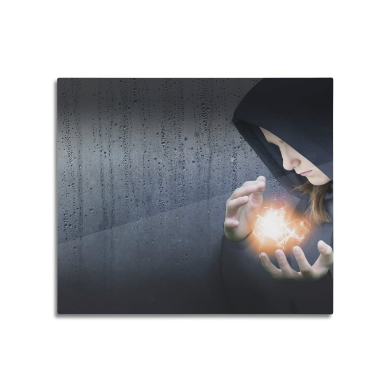 Theonite: Planet Adyn Cover Art Home Mounted Aluminum Print by M. L. Wang Shop