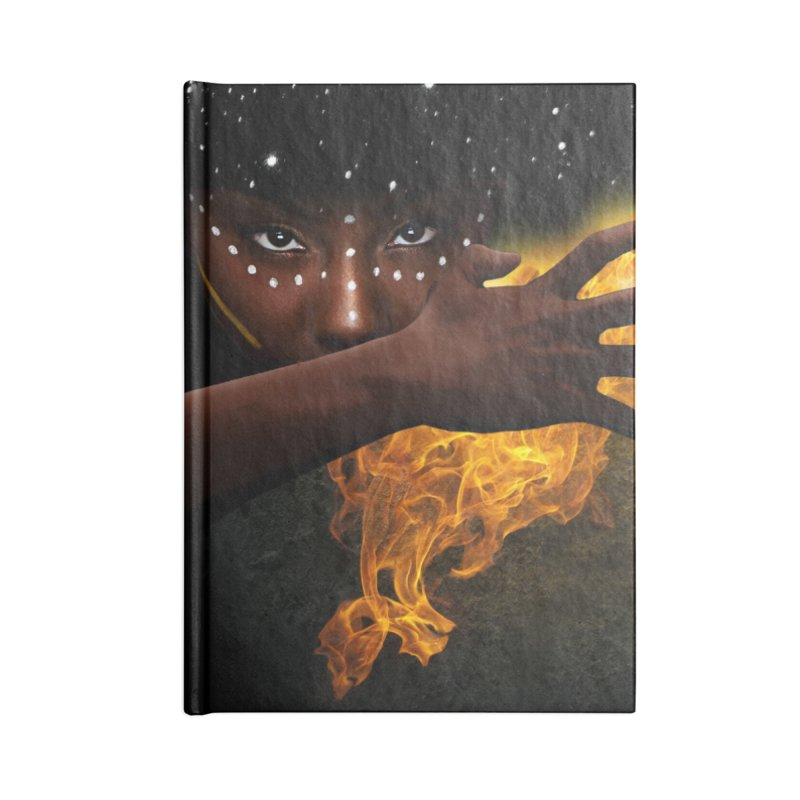 Theonite: Orbit Cover Art Accessories Lined Journal Notebook by M. L. Wang Shop