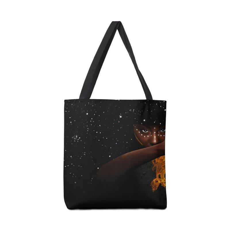 Theonite: Orbit Cover Art Accessories Tote Bag Bag by M. L. Wang Shop