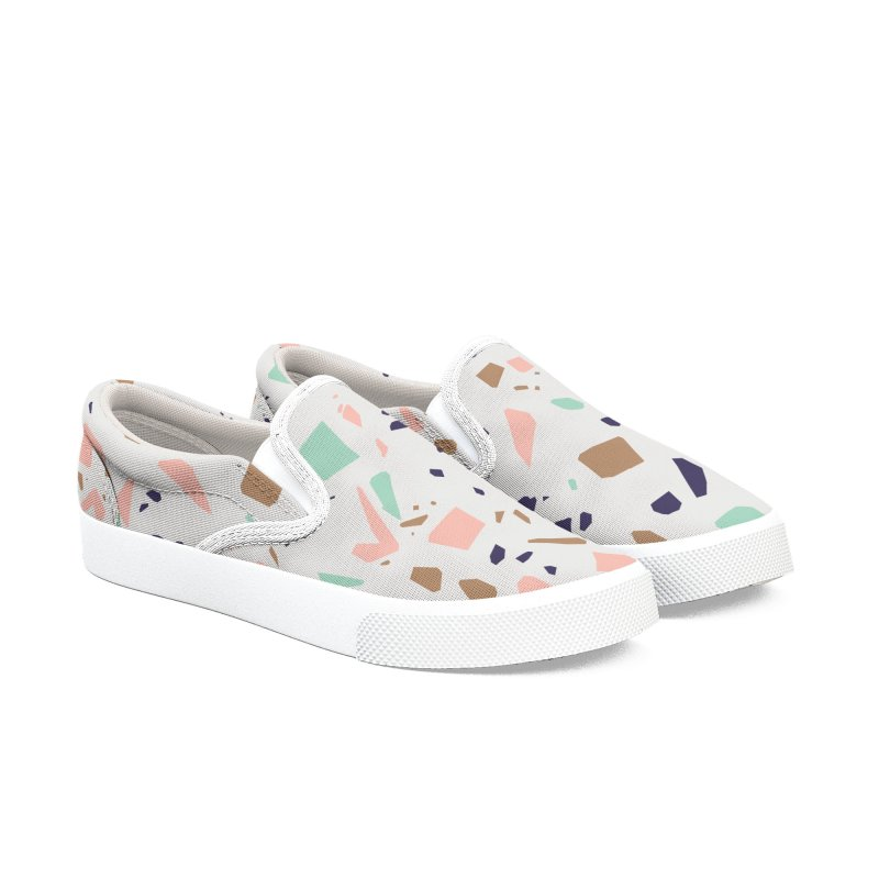 Terrazzo 01 Women's Shoes by mmartabc's Artist Shop