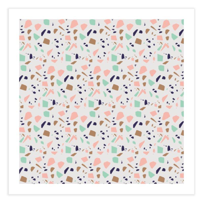 Terrazzo 01 Home Fine Art Print by mmartabc's Artist Shop