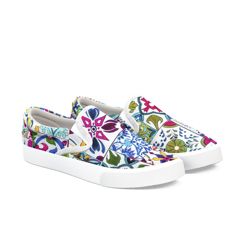Tiles of Andalusia Women's Shoes by mmartabc's Artist Shop