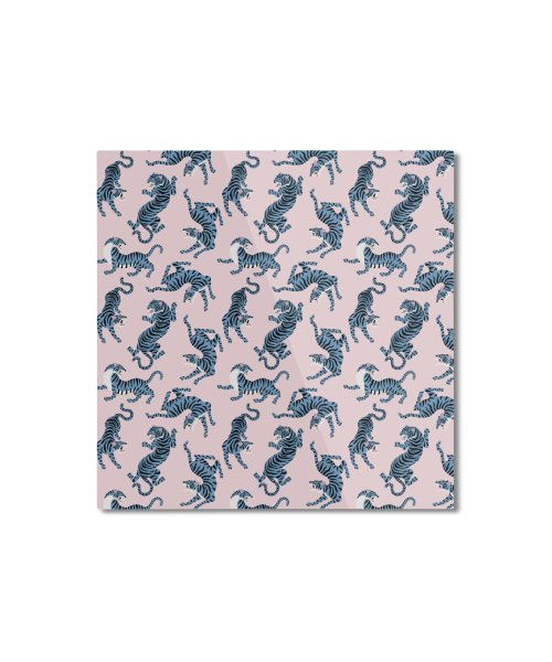 Pattern of blue tigers