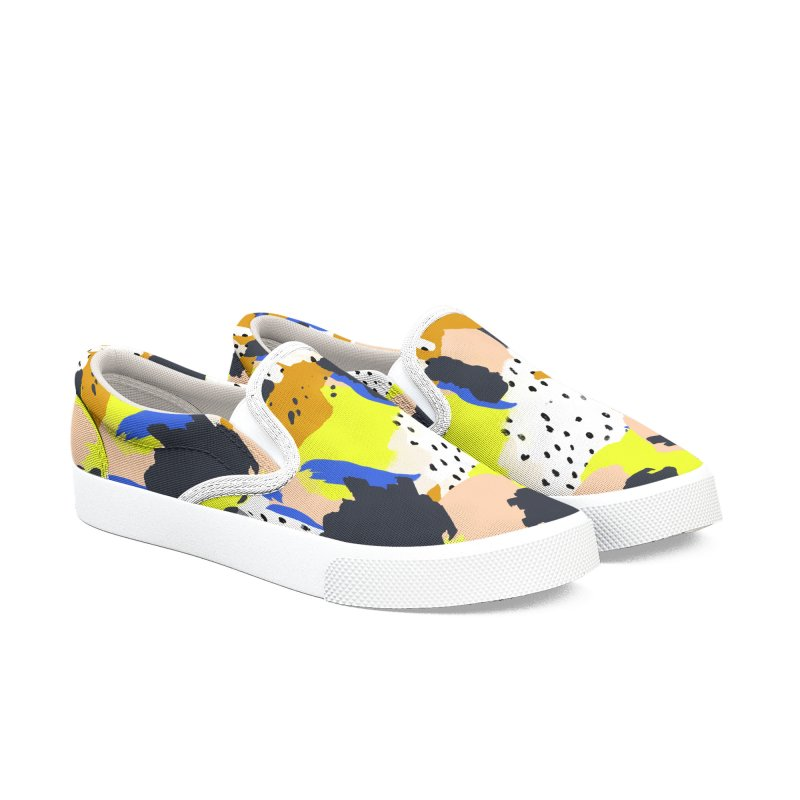 Abstract modern strokes 001 Men's Shoes by mmartabc's Artist Shop