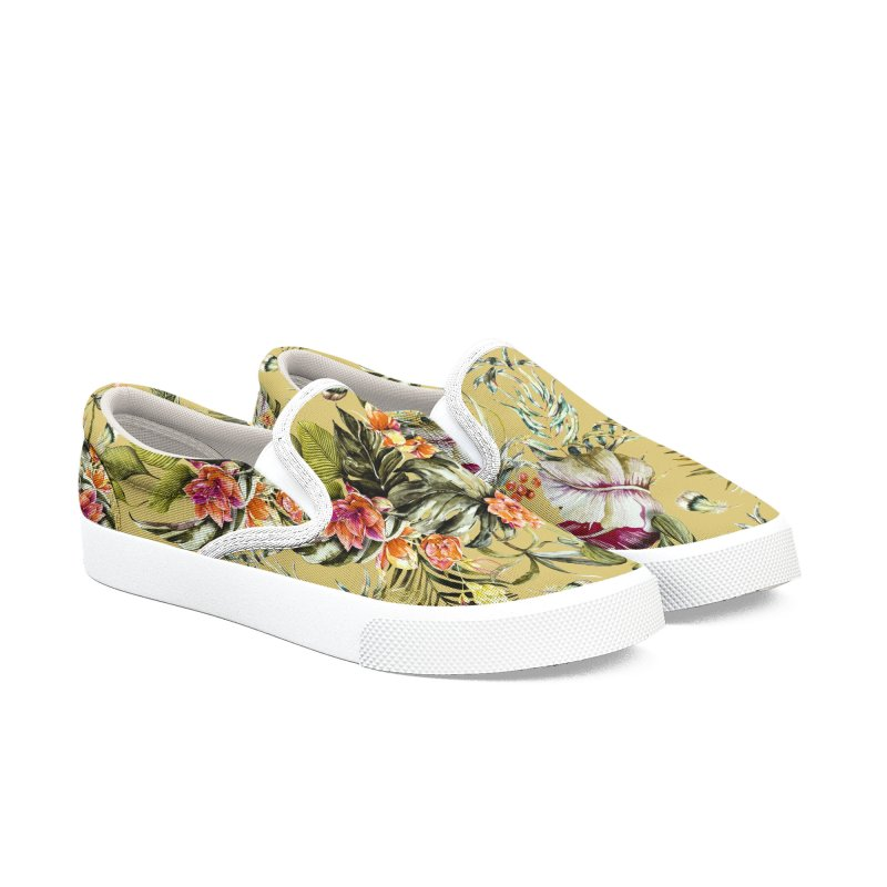 Exotic jungle bouquet 01 Women's Shoes by mmartabc's Artist Shop