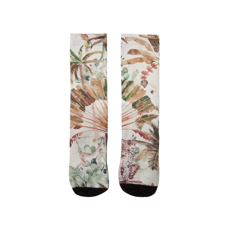 Wild jungle 79 Women's Socks by mmartabc's Artist Shop