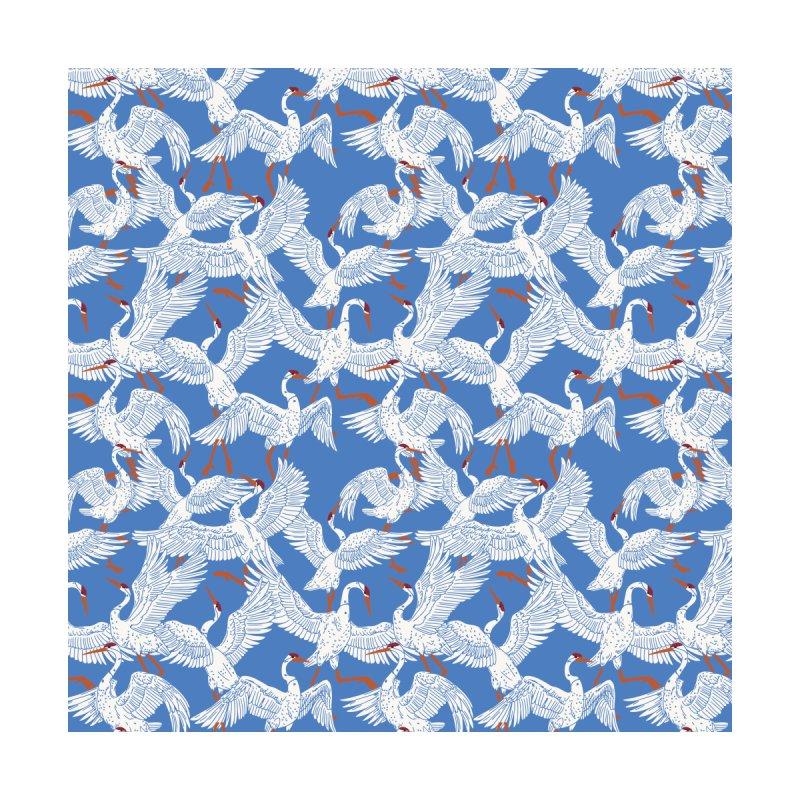Flying flock of crane birds 23 Women's Socks by mmartabc's Artist Shop