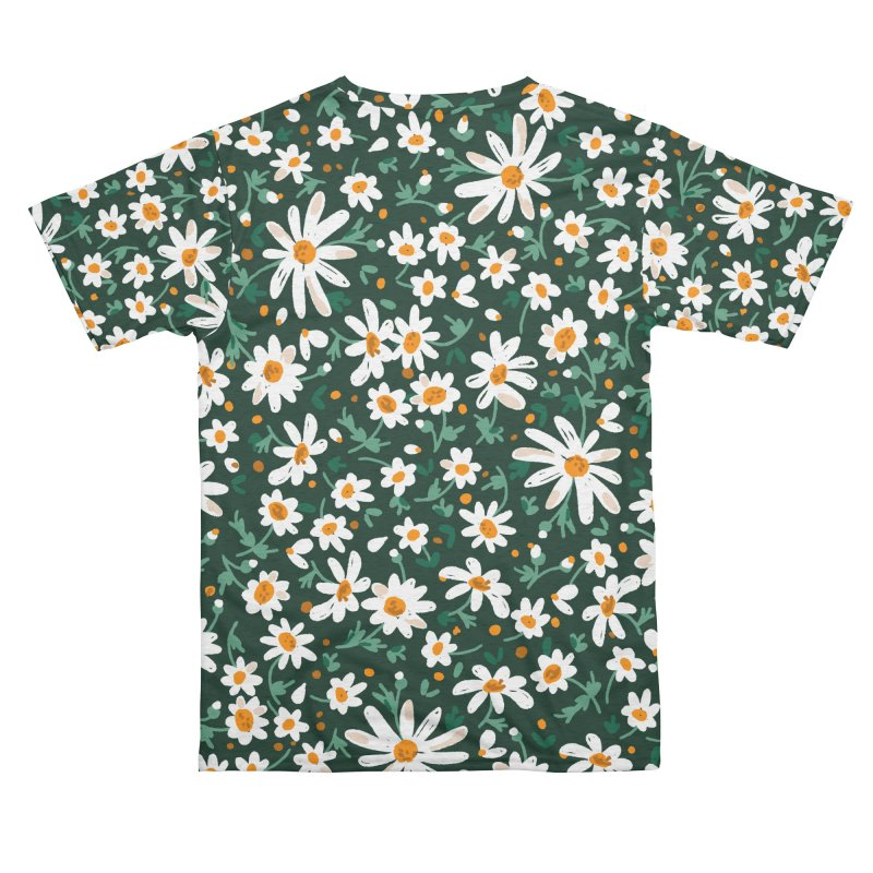Field of daisies Women's Cut & Sew by mmartabc's Artist Shop
