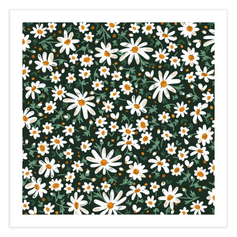 Field of daisies Home Fine Art Print by mmartabc's Artist Shop