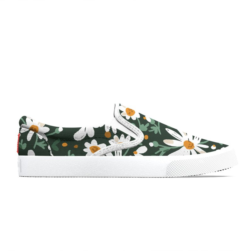Field of daisies Women's Shoes by mmartabc's Artist Shop