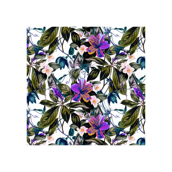 image for Tropical floral colorful