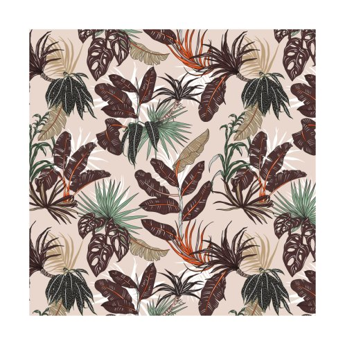 Design for Nature tropic leaves 095