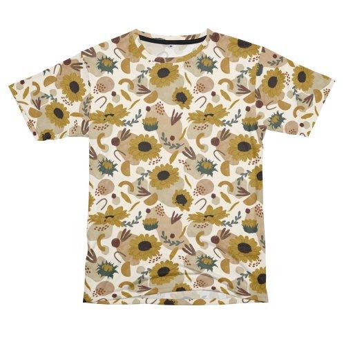 image for Modern sunflowers rain
