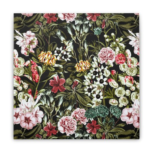 image for Dark wild floral 070