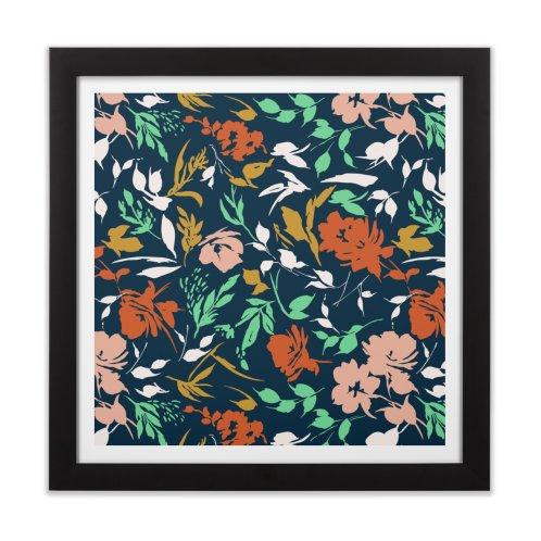 image for Modern dark flowery garden