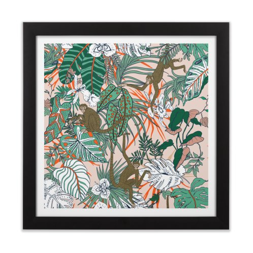 image for Monkeys in the paradise jungle