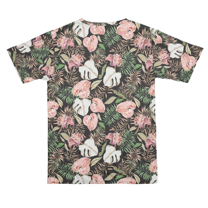 Wild bloom jungle dark Men's Cut & Sew by mmartabc's Artist Shop