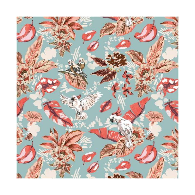 Birds in the pink jungle Men's Cut & Sew by mmartabc's Artist Shop