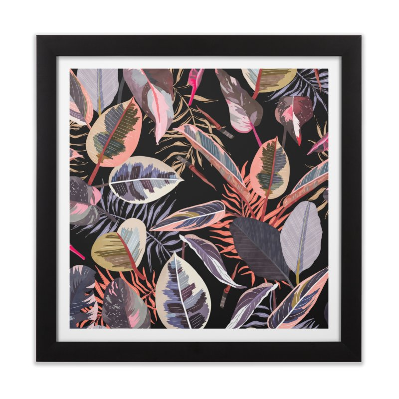 Wild nature jungle 97 Home Framed Fine Art Print by mmartabc's Artist Shop