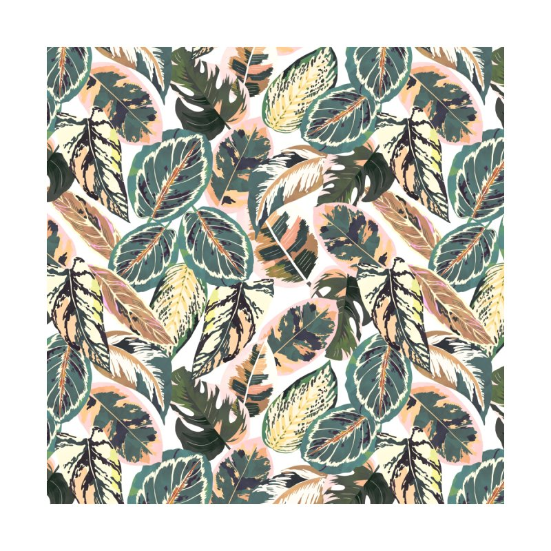 Botanical leaves jungle 2B Men's Cut & Sew by mmartabc's Artist Shop