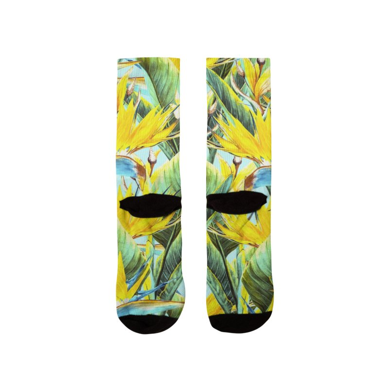 EXOTIC BOTANICAL 90 Men's Socks by mmartabc's Artist Shop