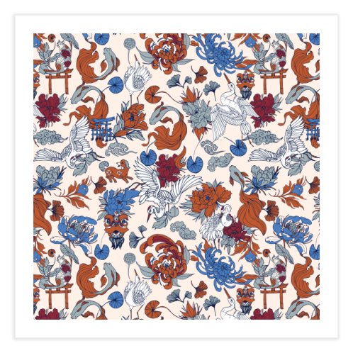 image for Wild Asian pattern I