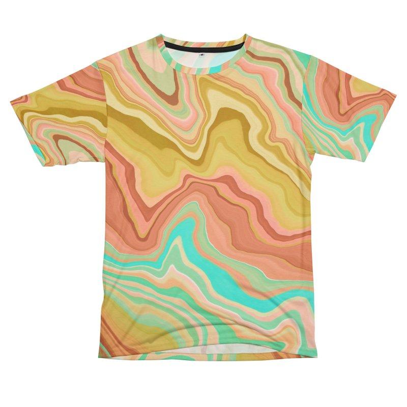 Wavy Stripes Desert Dunes 8T Men's Cut & Sew by mmartabc's Artist Shop